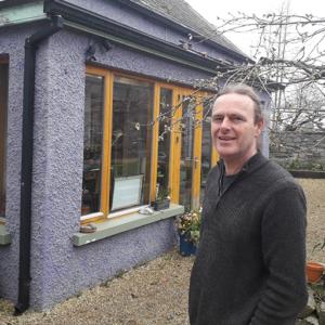 Brian Dillon Log Boiler home heating case study