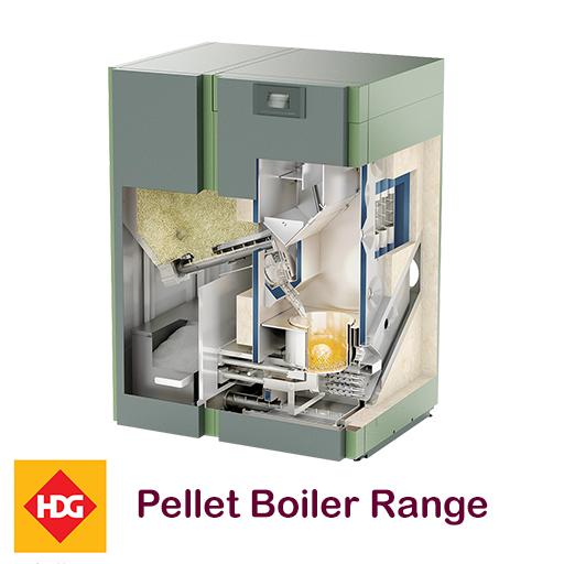 HDG Pellet Biomass Boiler