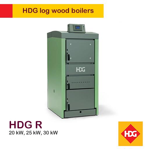HDG-R Log Boiler