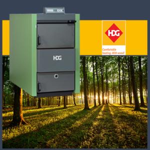 HDG Turbotec log boiler