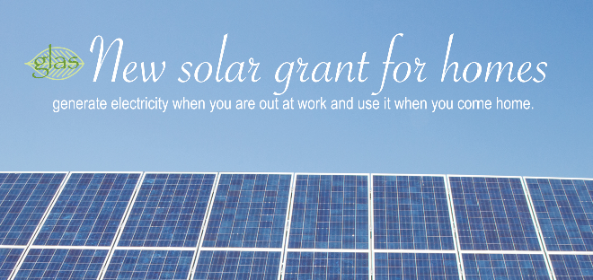 Solar grant available for homeowners
