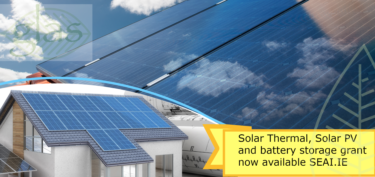 Solar grant now available from SEAI.ie