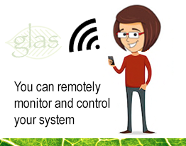 You can monitor and control your solar pv system remotely